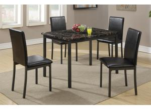 F2361 5 piece dining set package includes 4 chairs,MEK IMPORTS
