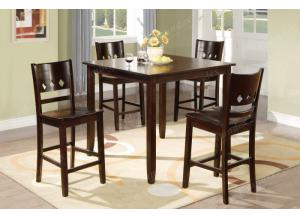 F2243 5 piece dining set package includes 4 chairs,MEK IMPORTS